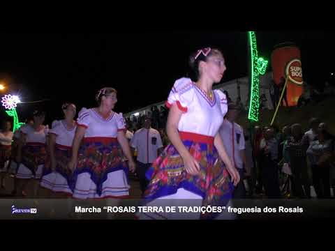 """Marcha """"ROSAIS TERRA DE TRADIÇÕES"""" freguesia dos Rosais"""
