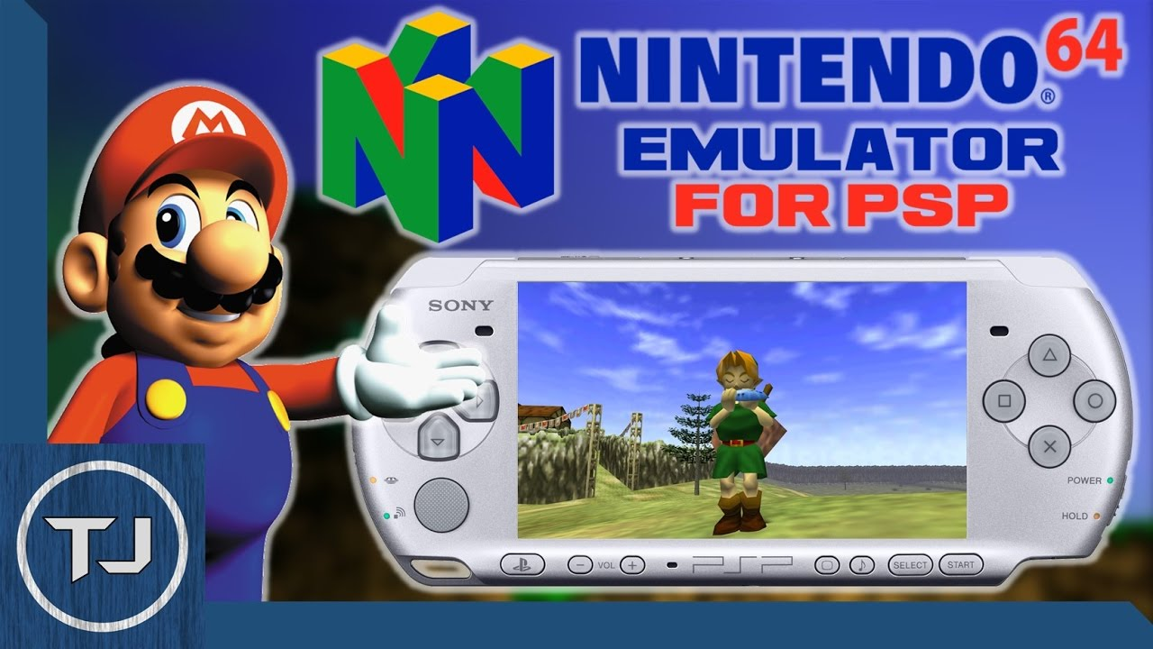 Nintendo 64 Emulator For Psp Psp Go
