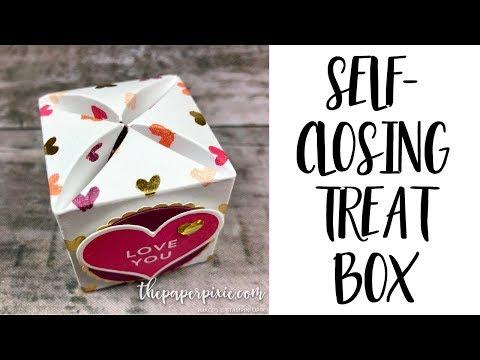 Self-Closing Treat Box