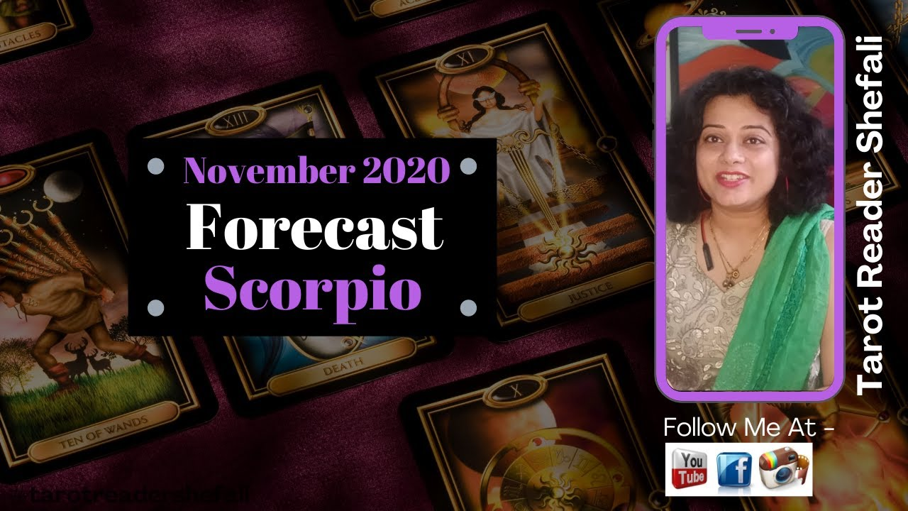 Scorpio Tarot Reading - November 2020
