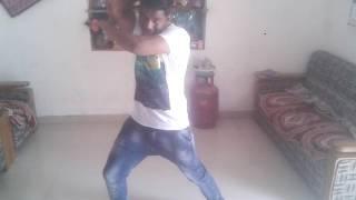 "solo Dance choreography on ""Zaalima - Raees (ShahRukh Khan)"