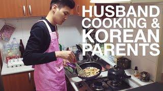 캐나다 새댁 - Husband Cooking, Korean Parents & Being on TV 남편요리 & 한국 부모님과 EBS 방송 (자막 CC)