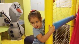 Видео для детей НОВАЯ ДЕТСКАЯ ПЛОЩАДКА Парк Развлечений For Kids  Amusement Park Kids Playroom