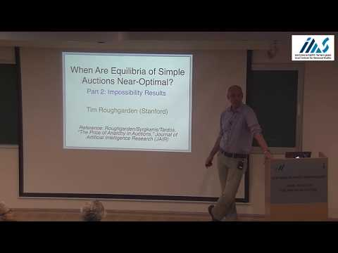 Tim Roughgarden - Communication Complexity and Impossibility Results for Simple Auctions