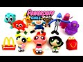 2016 McDONALD'S CARTOON NETWORK THE POWERPUFF GIRLS HAPPY MEAL TOYS UPDATE COLLECTION REVIEW