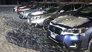 Наваливаем на Subaru Outback 2018 - тает финский снег