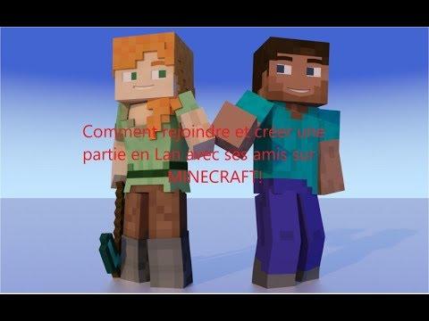 [Tuto] Comment Créer Et Rejoindre Une Partie En Lan Avec Ses Amis Sur Minecraft.