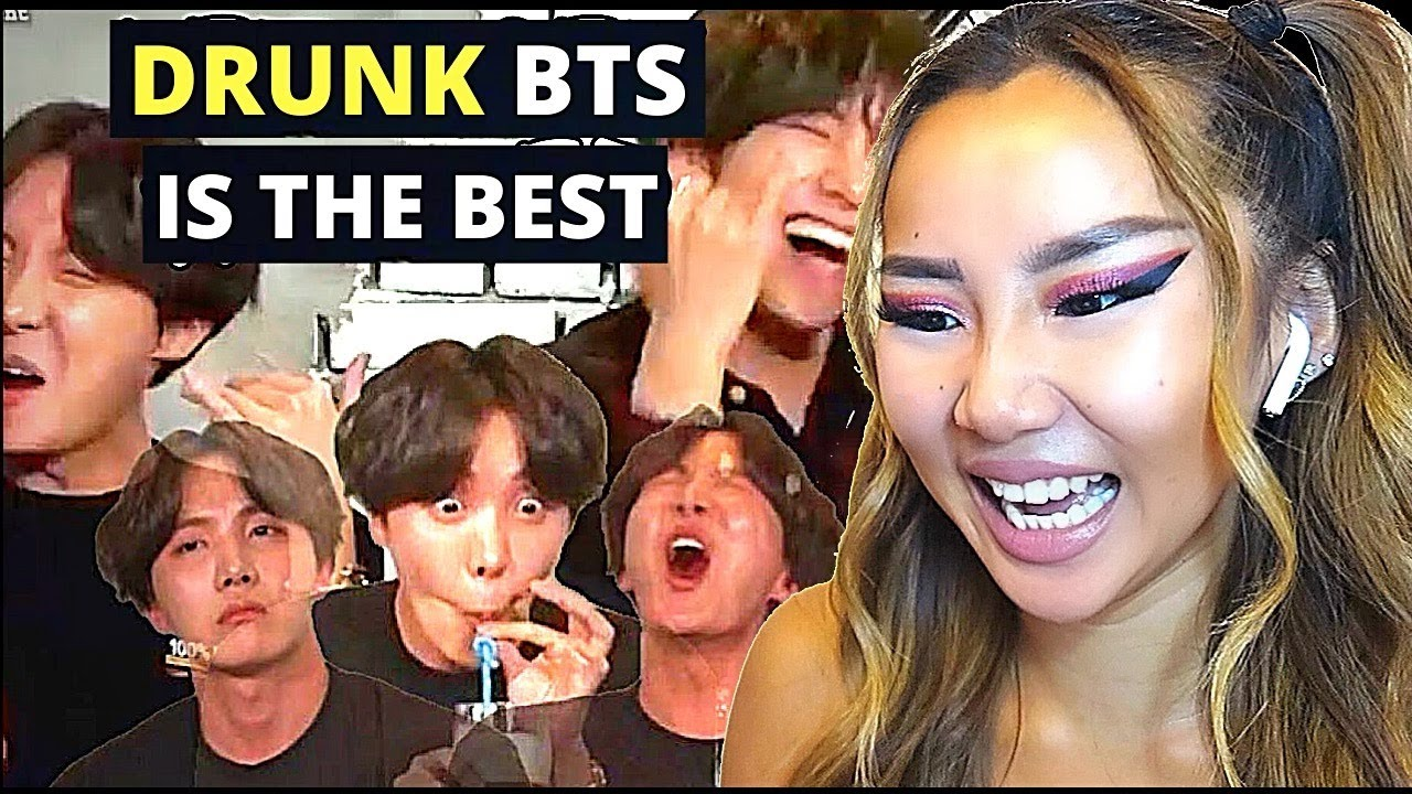 HOBI IS SO RELATABLE! 🤣 'DRUNK BTS IS THE BEST' 🤣 | REACTION/REVIEW