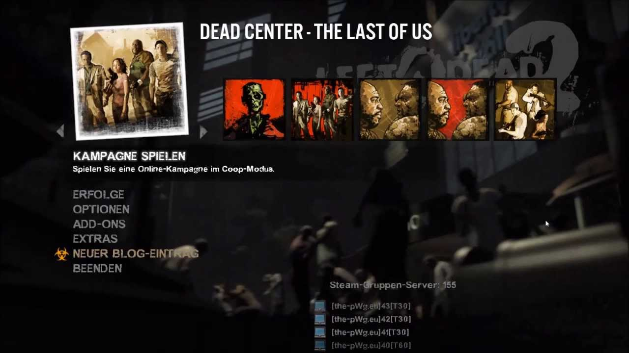 Left 4 Dead 2: The Last of Us Main Menu Soundpack