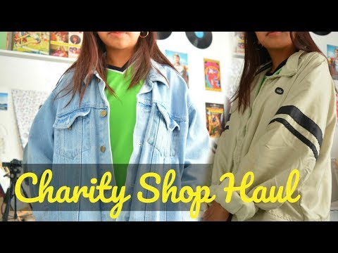 Vintage Try On Thrift/Charity Shop Haul !!