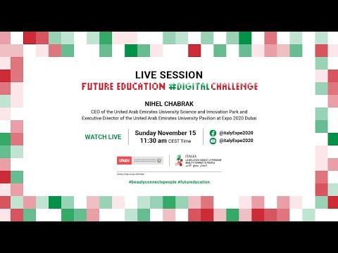 Future Education Live Session with United Arab Emirates University #DigitalChallenge