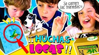 💰 ¡¡Las HUCHAS o ALCANCÍAS más divertidas!! 😧 Una CARA que come monedas +  🐼🐶😼 LADRONES!! thumbnail
