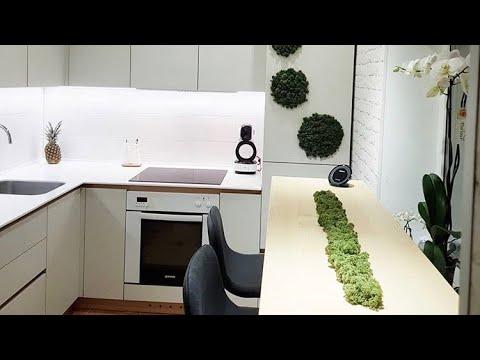 Кухня эко с Фасадами CLEAF / Фурнитура BLUM / Столешница Tristone / IDEASTUDIO DNEPR