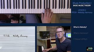 BASIC MUSIC THEORY 2 - Pitch