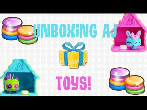 Unboxing Animal Jam Toys Youtube