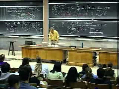 Lec 04: Electrostatic Potential and Electric Energy | 8.02 Electricity and Magnetism (Walter Lewin)