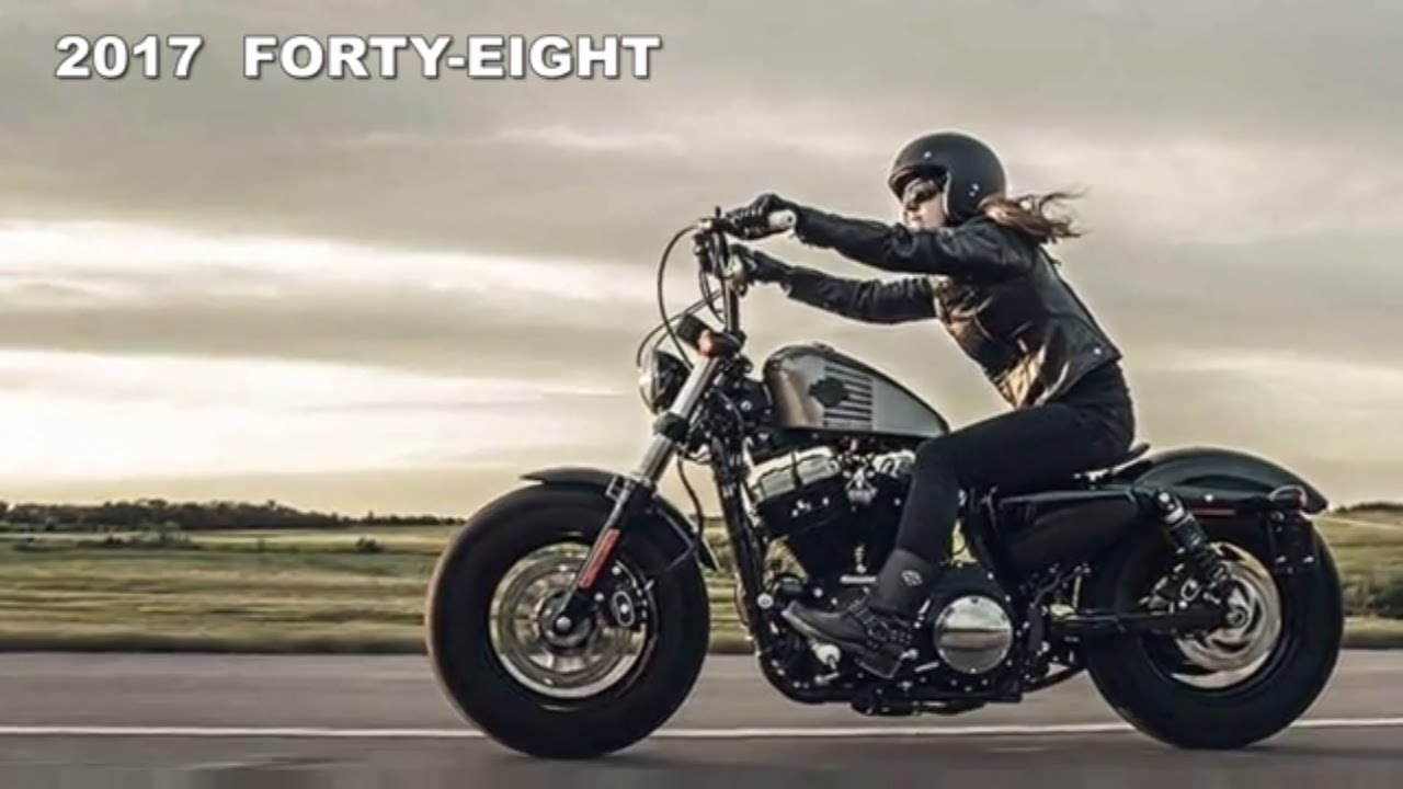 2017 harley-davidson forty-eight new luxury super bike - youtube