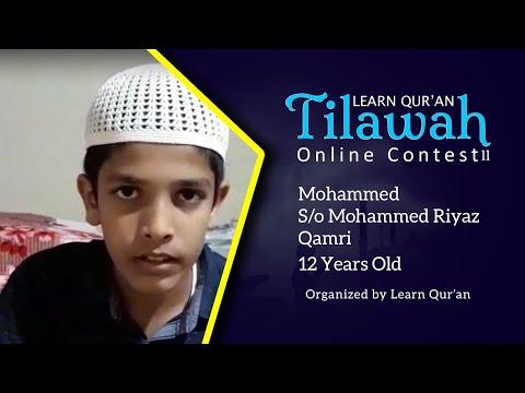 mohammed-s/o-mohammed-riyaz-qamri- -learn-quran-tilawah-online-contest-ll,-bhatkal