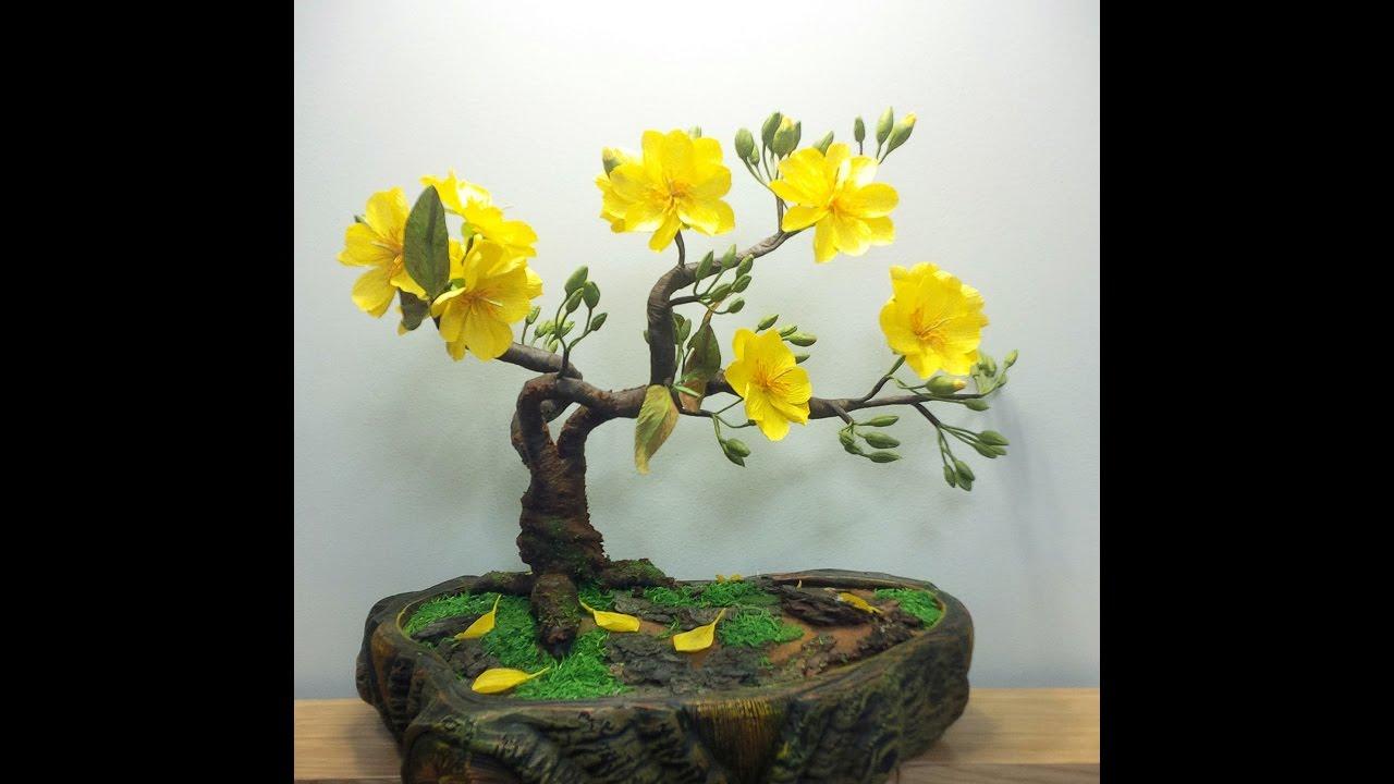 abc tv how to make artificial bonsai tree craft. Black Bedroom Furniture Sets. Home Design Ideas