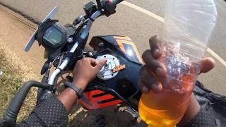 KTM DUKE 125 Mileage Test in High Speed | Tamil