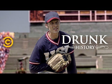 One-Handed Pitcher Jim Abbott Takes On the Odds - Drunk History