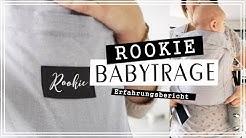 ROOKIE BABYTRAGE REVIEW Erfahrungsbericht - Ich habe es falsch angewendet!!! jucepauline
