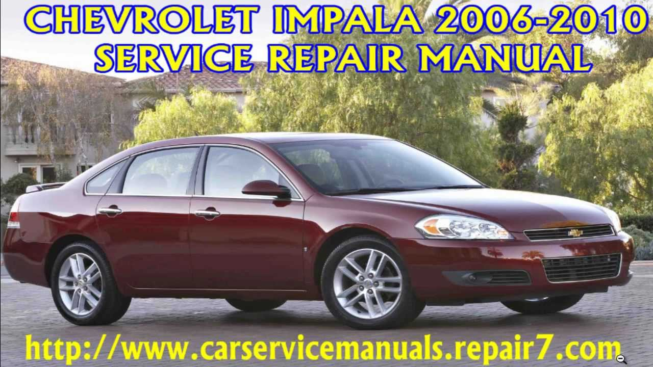 chevrolet impala 2006 2007 2008 2009 2010 manual manual de rh youtube com 2006 chevy impala ss repair manual 2006 chevrolet impala ss owners manual pdf