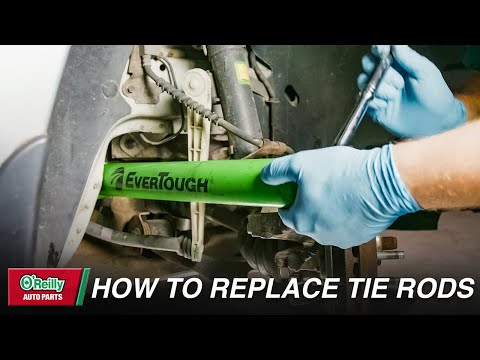 How To: Replace Inner and Outer Tie Rods