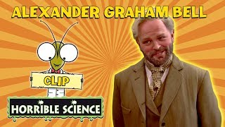 Horrible Science - Who Invented the Telephone? | Alexander Graham Bell | Science for Kids