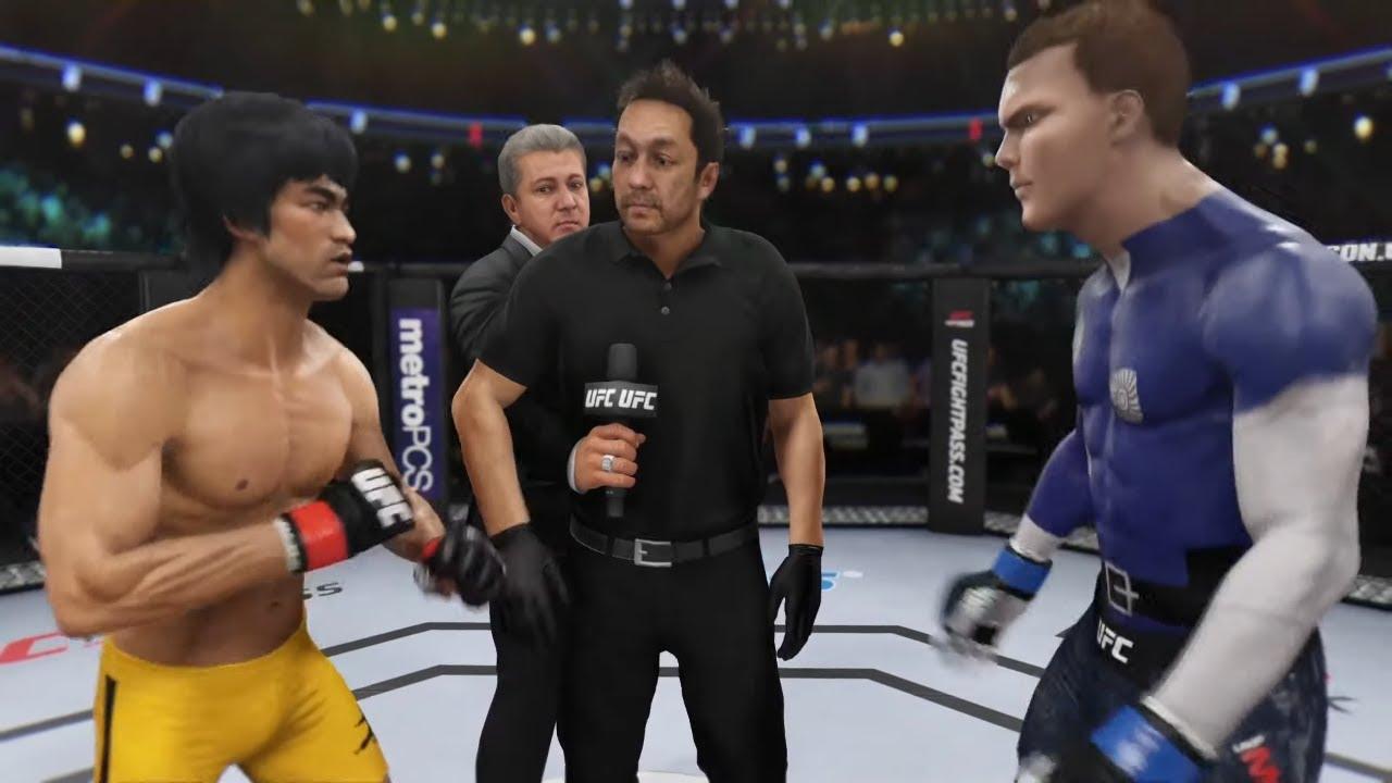 Bruce Lee vs. Liquid Metal (EA sports UFC 3)