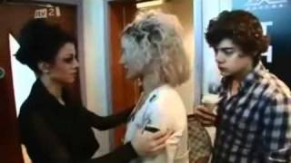 More Cher Lloyd Clips - X Factor 2010 Behind The Scenes