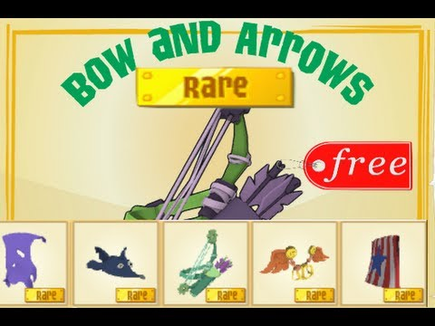 Free Rare Bow And Arrows - Animal Jam Giveaway