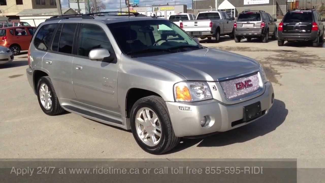 2006 Gmc Envoy Denali >> 2006 Gmc Envoy Denali Winnipeg Mb Ride Time