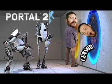 TOO MANY HOLES - Portal 2 Gameplay Part 2