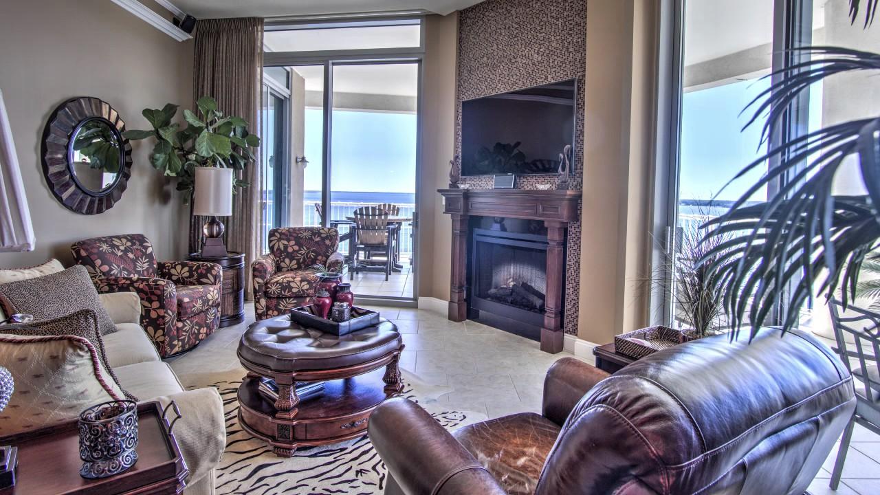 Waterfront Luxury Condo Panama City Beach Florida Real Estate For