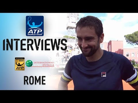 Cilic Wants To 'Keep High Level Of Tennis' In Rome 2018 QFs