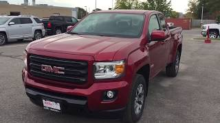 2018 GMC Canyon All Terrain Extended Cab V6 Engine Spray On Liner Red Oshawa ON Stock #180217