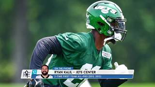 Jets C Ryan Kalil on Dropping Bars with Le'Veon Bell| The Rich Eisen Show | 8/9/19