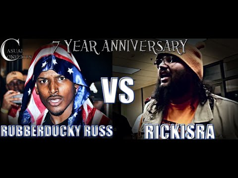 Casual Conflicts Rap Battle RubberDucky Russ vs RickIsRa