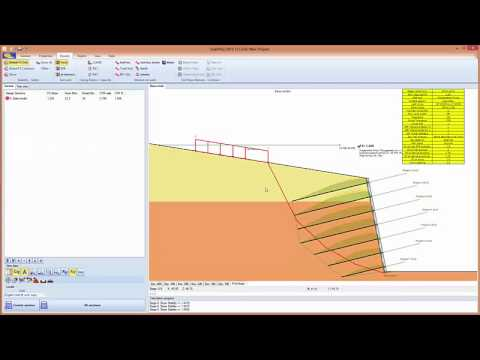 Snailplus 2015 Soil Nailing Analysis Software Youtube