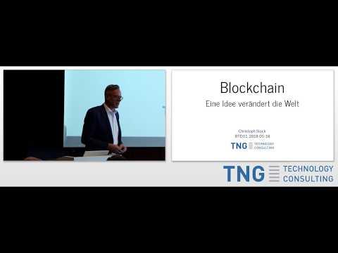 BTD11: Blockchain - Eine Idee verändert die Welt