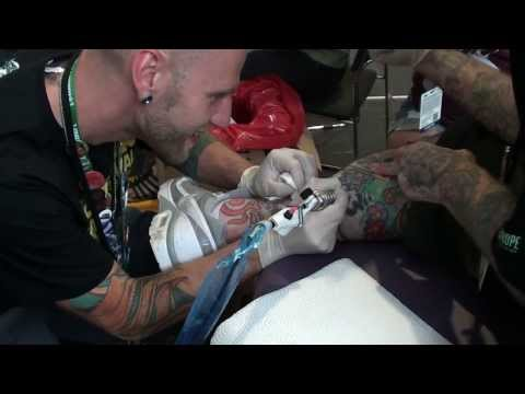 First tattooing by Shane Turgeon