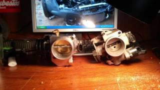 Gambar cover Bigger throttle body vs. Stock