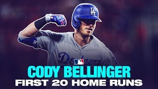 Cody Bellinger's First 20 Home Runs