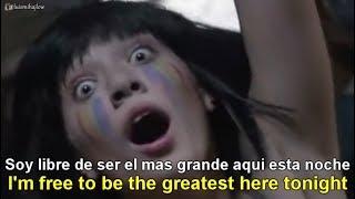 Sia - The Greatest [Lyrics English - Español Subtitulado]