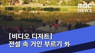 [비디오 디저트] 전설 속 거인 부르기 外 (2019.04.22/뉴스외전/MBC)