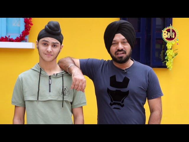 Son Vs Manjeet Singh - Gurpreet Ghuggi || Son Of Manjeet Singh || New Punjabi Movie | Balle Balle Tv