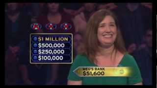 Meg Arbo on Who Wants To Be A Millionaire (2 Days)