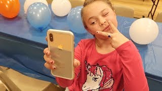 Olivia Loves her New PHONE!