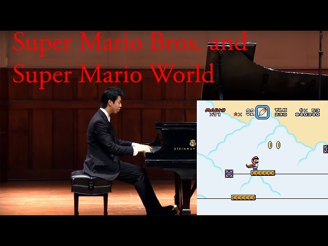 Super Mario Bros. 1 Overworld and Super Mario World Air Platform Played by Video Game Pianist